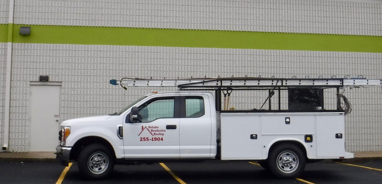 Reliable Residential Roofing Truck